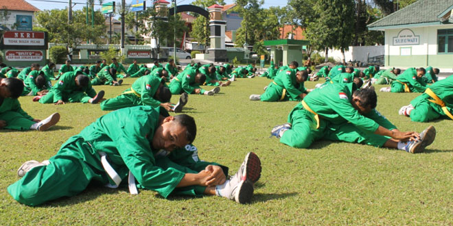 Kodim 0725/Sragen Melaksanakan Latihan Yongmoodo