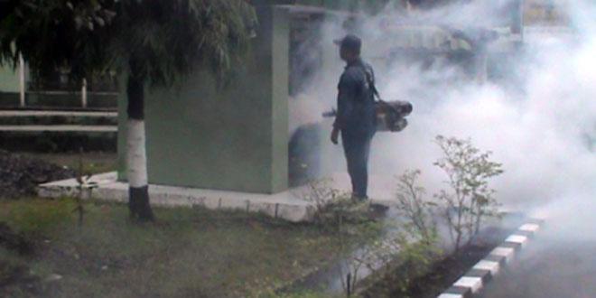 Pemberantasan Sarang Nyamuk di Makodim 0725/Sragen