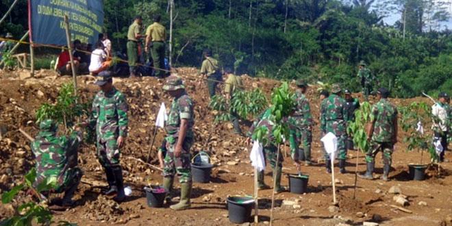 Program Penghijauan Banjarnegara Pasca Tanah Longsor