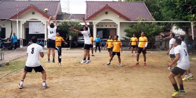 Kodim 0721/Blora Jalin Kebersamaan dengan Olahraga Bersama