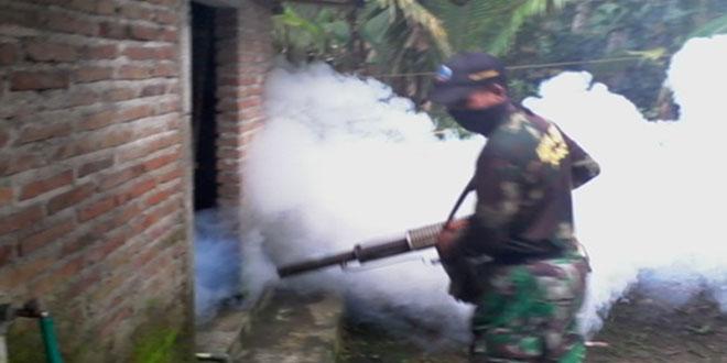 Kodim Kebumen Intensifkan Pemberantasan Sarang Nyamuk