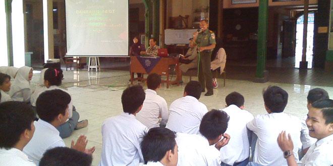 Koramil Gedongtengen Adakan Sosialisasi Penerimaan Prajurit TNI