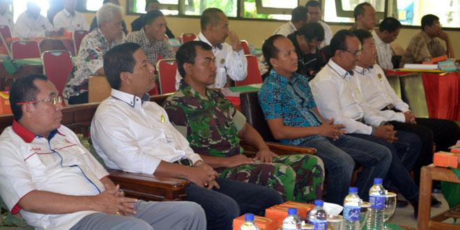 Dandim 0712/Tegal Diwakili Danramil 02/Tegal Timur Menghadiri Acara Musyawarah Olah Raga Koni Kab. Tegal