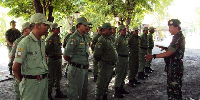 Pelatihan dan Pembinaan Linmas se Kecamatan Jebres Kota Surakarta