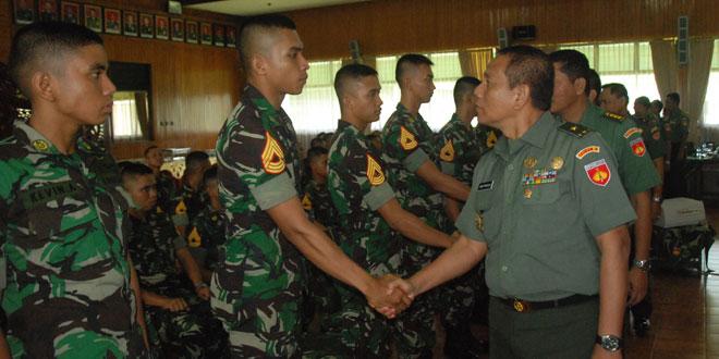Taruna Akademi Militer OJT di Wilayah Kodam IV/Diponegoro