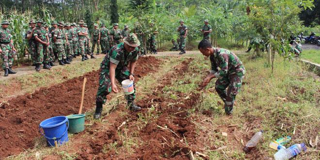 Danramil dan Babinsa Jajaran Kodim 0733/BS Ikuti Pelatihan Kader Pertanian