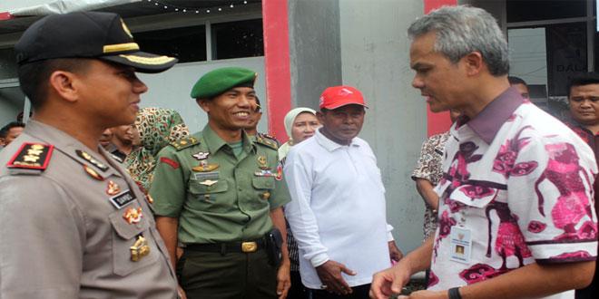 Kunjungan Kerja Gubernur Ganjar Pranowo di Brebes