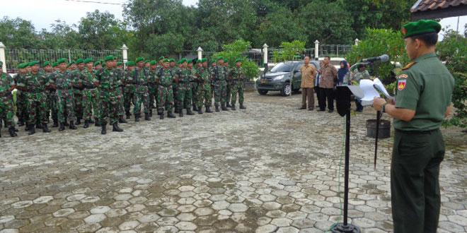 Komandan Kodim 0728/Wonogiri Tutup Latian Kader Pertanian