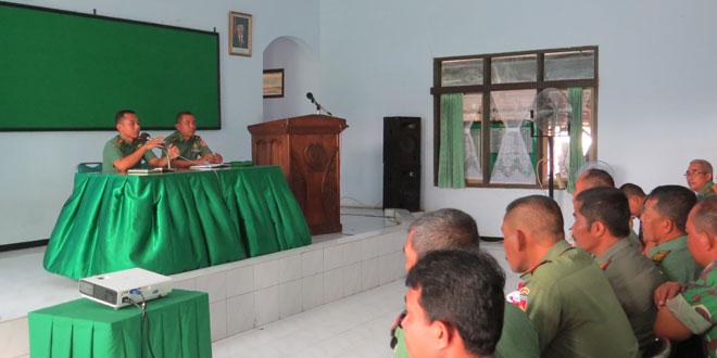 Jam Komandan Sebagai Sarana Silaturahmi dan Binsat