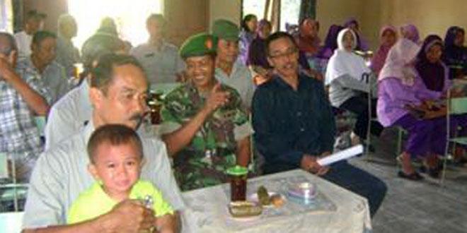 Danramil-07/Ngrampal Hadiri  Musrenbang Desa Ngarum
