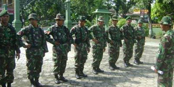 Pembinaan Personel Kepada Anggota Koramil 07/Ngrampal