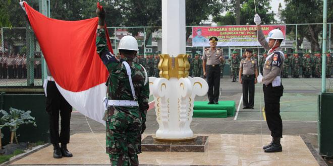 Upacara 17-an Gabungan TNI/POLRI