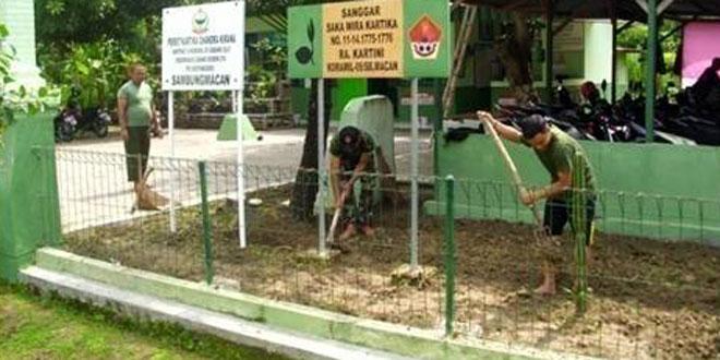 Gerakan Nasional Indonesia Bersih Koramil 09/Sambungmacan