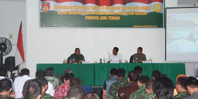 Pendataan Target dan Realisasi Tanam Serta Panen Provinsi Jawa Tengah