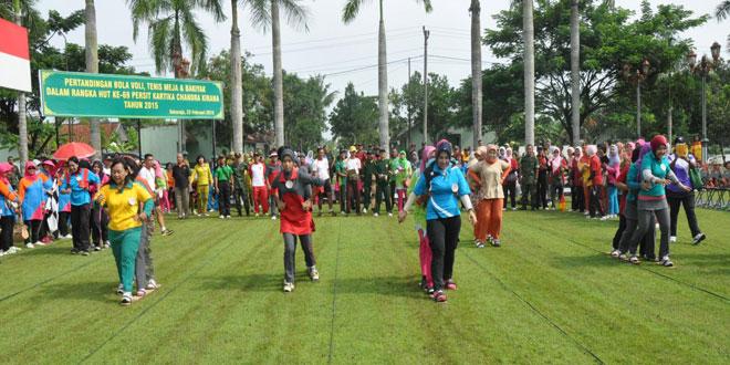 Pekan Olahraga Persit Kartika Chandra Kirana Koorcab Rem 071 PD IV/Diponegoro