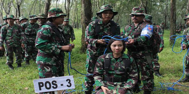 Uji Terampil Perorangan Kodim 0733-BS/Semarang