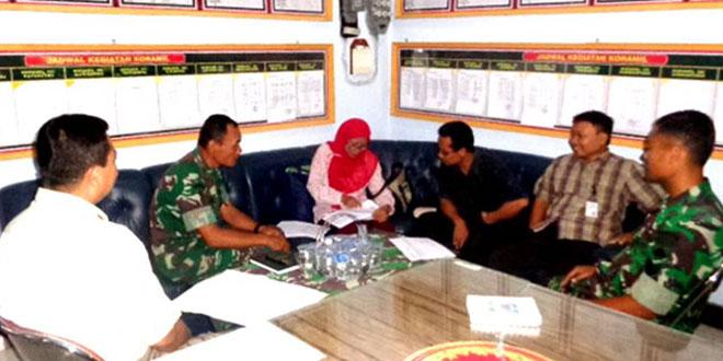 Kodim 0728/Wonogiri Menerima Tim Dispertan dari Jakarta