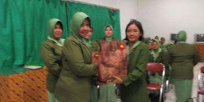 Sertijab Ketua Persit KCK Cabang XX Kodim 0710/Pekalongan