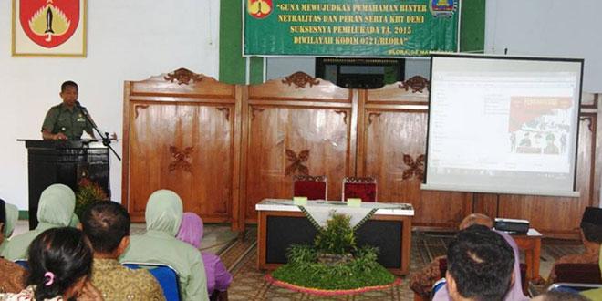 Komsos TNI Kodim 0721/Blora Dengan KBT dan FKPPI