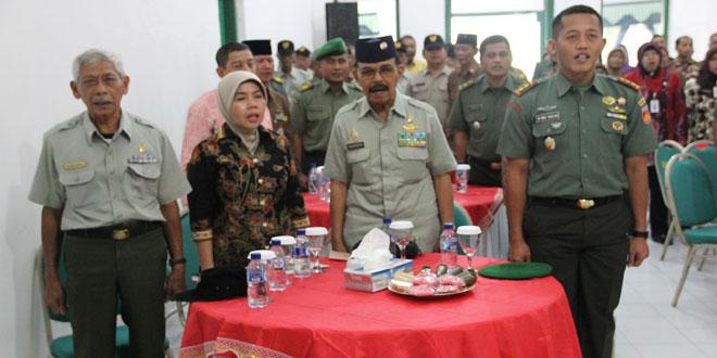 Silaturahmi Dandim Kudus dengan Keluarga Besar TNI