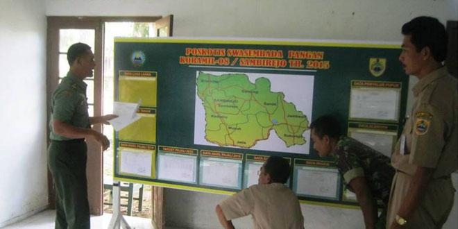 Kerjasama Koramil-08/Sambirejo dengan Bapelluh dan UPT Dinas Pertanian