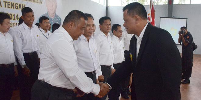 Pelantikan Pengurus FORKI Provinsi Jateng Masa Bakti 2014-2018
