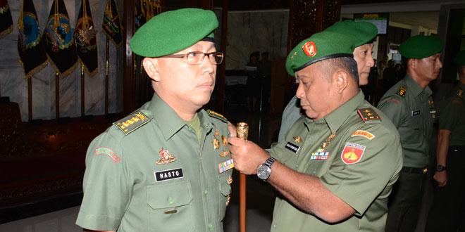 Sejumlah Pejabat Kodam IV/Diponegoro Diserahterimakan