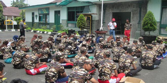 Apel Kebangsaan FKPPI Jawa Tengah,  Kontingen Wonosobo Kirim 3 Peleton Pelajar