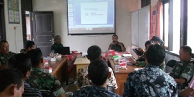 Rapat Koordinasi PPL Kecamatan Sirampog dan Babinsa Koramil 10/Sirampog