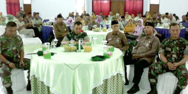 Keluarga Besar TNI (KBT) Wilayah Kodim 0712/Tegal  Ikuti Kegiatan Komsos di Makorem 071/WK