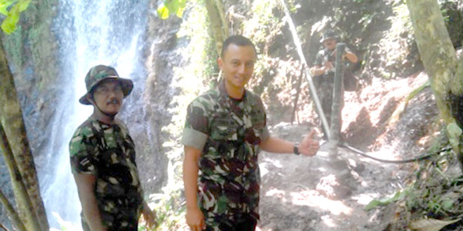 Dandim 0709/Kebumen Tinjau Pemasangan Pompa Hidrolik di Kec. Padureso