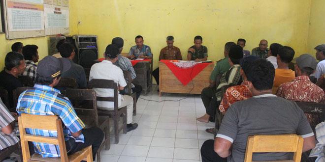 WS Dandim 0713/Brebes Sosialisasi Karya Bakti TNI  di Losari Lor