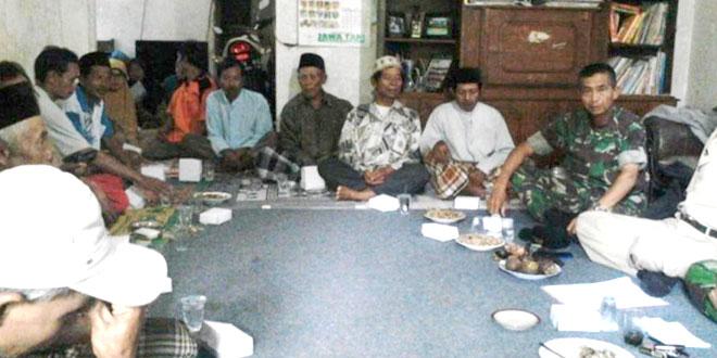 Rapat Optimalisasi Lahan di Desa Gunung Agung