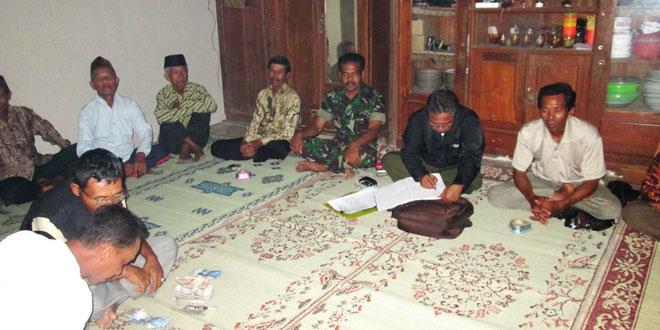 Rapat Koordinasi Bersama Gapoktan Ngudi Makmur Desa Temon