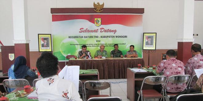 Rapat Koordinasi Memasuki Masa Tanam ke-2 di Wilayah Kec. Nguntoronadi