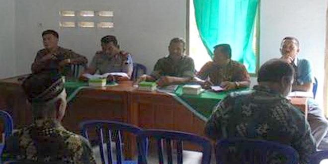 Pertemuan Anggota Koramil Gesi  Bersama PPL, Gapoktan dan Pengecer Pupuk
