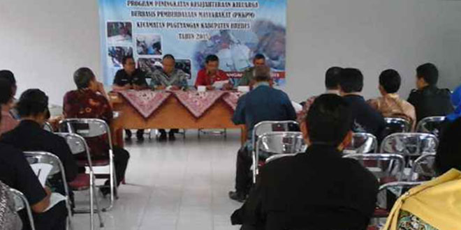Musyawarah Antar Desa dan Sosialisasi Program PKKPM TA 2015 di Paguyangan