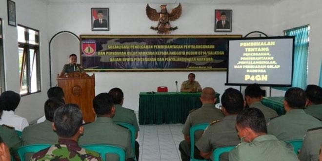 Sosialisasi P4GN bagi Personel Kodim