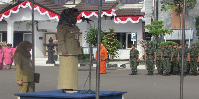 Upacara Peringatan Hari Kartini ke-136 di Halaman Pendopo Kota Tegal