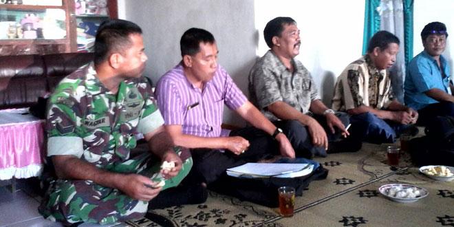 Babinsa Koramil-18/Girimarto Dampingi Dispertan Suluh Para Gapoktan