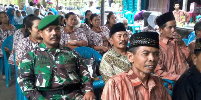 Peran Aktif Babinsa Mendukung Lomba Posyandu Tingkat Kabupaten Magelang