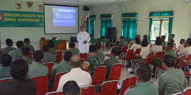 Rekoleksi Prajurit dan PNS Jajaran Kodam IV/Diponegoro