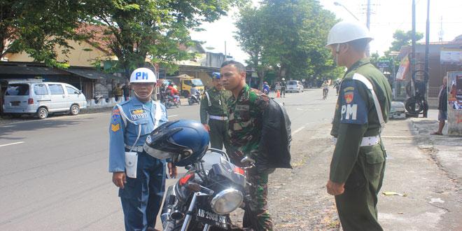 Komandan Denpom IV/2 Yogyakarta Pimpina Operasi Gaktib Gabungan
