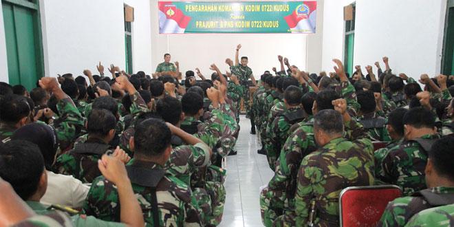 Kemanunggalan TNI-Rakyat Pilar Kekuatan TNI