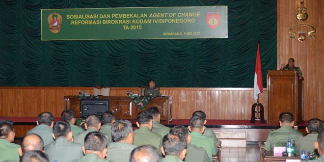 TNI AD Konsisten dan Konsekuen Laksanakan Reformasi Birokrasi