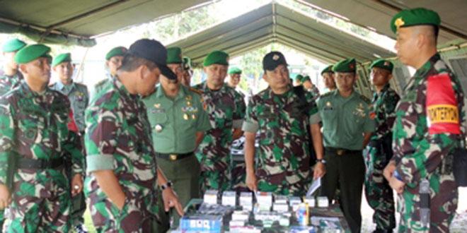 Kasdam IV/Diponegoro Cek Kesiapan Pasukan Satgas Yonif 408/SBH