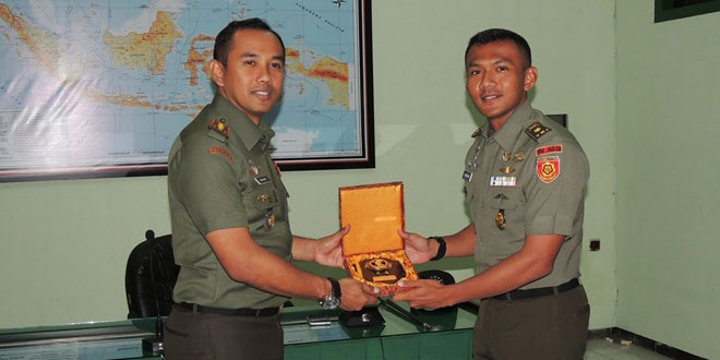 Dandim 0735/Surakarta Menerima KKL Pasis Seskoad Angkatan LIII
