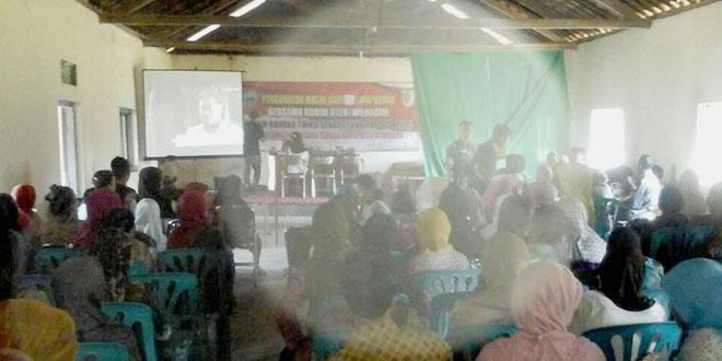 Sosialisasi Pelaksanaan TMMD Sengkuyung Tahap-I TA 2015 di Kab. Wonogiri Dibarengi Baksos