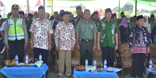 Danramil Kramat Hadiri Pembukaan MTQ dan MHQ Pesantren Kabupaten Tegal Tahun 2015