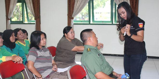 Sosialisasi Radio Suara Diponegoro ke Bintaldam IV/Diponegoro